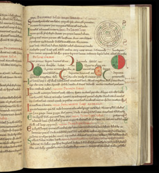 Diagrams Of The Phases Of The Moon, In St. Isidore Of Seville's 'Etymologies'